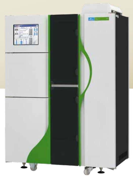 SPECIFICATIONS Genetic Screening Processor Newborn screening The instrument is controlled from the User Interface, which