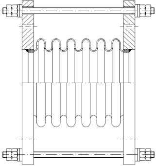 Lateral-Kompensatoren/ Lateral expansion joints RN F/F RM F/F Typ RN F/F Typ RM F/F Lateral- Baumaße