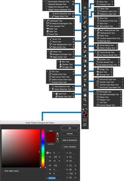 • Be able to identify which resolution and color mode you should be using for web