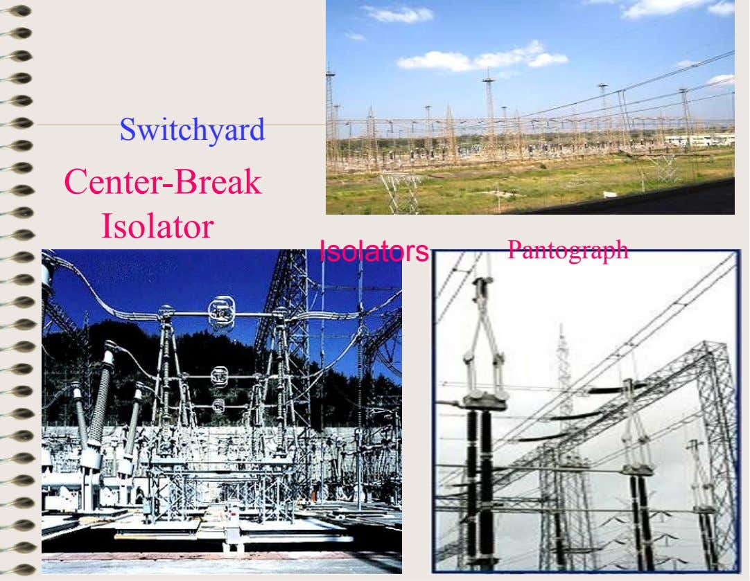 Switchyard Center-Break Isolator Isolators Pantograph