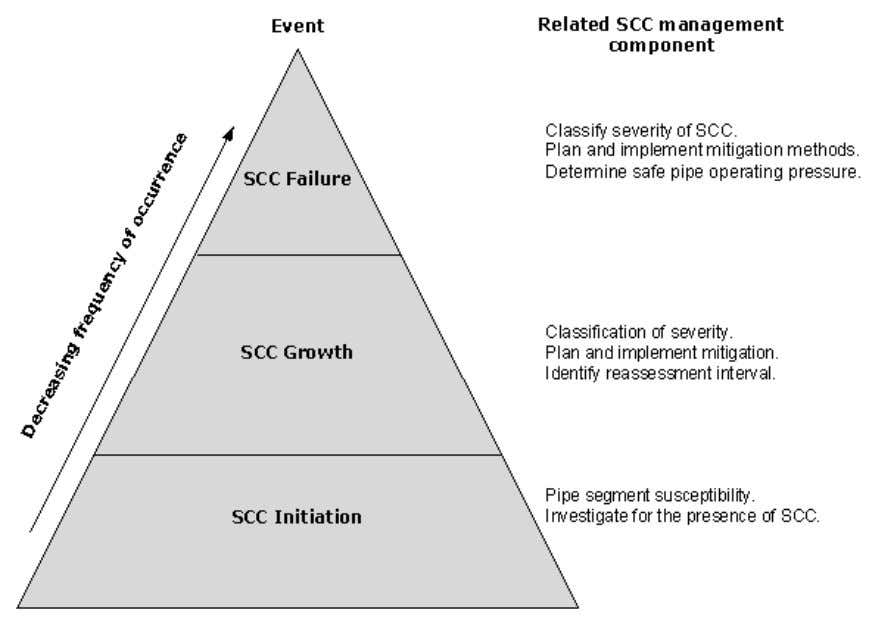 components of the SCC management plan (Figure 4.1). Figure 4.1: The frequency of occurrence of SCC