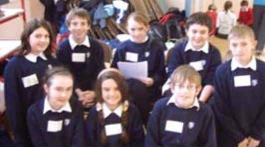 Mammen, Cara Jameson, Jeremy Taylor & Andrew Firman TALENTED mathematicians were invited to a 'Mathamagic'