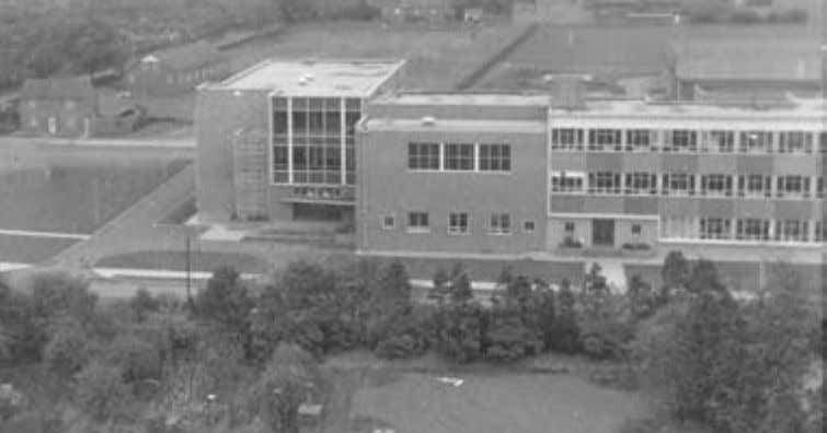 26 To advertise call 350398 Left: West Cheshire College circa 1963 and (below) the old Chester