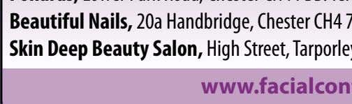 Skin Deep Beauty Salon, High Street, Tarporley, Cheshire www.facialcontours.co.uk Born on 9th April 1978: S Club