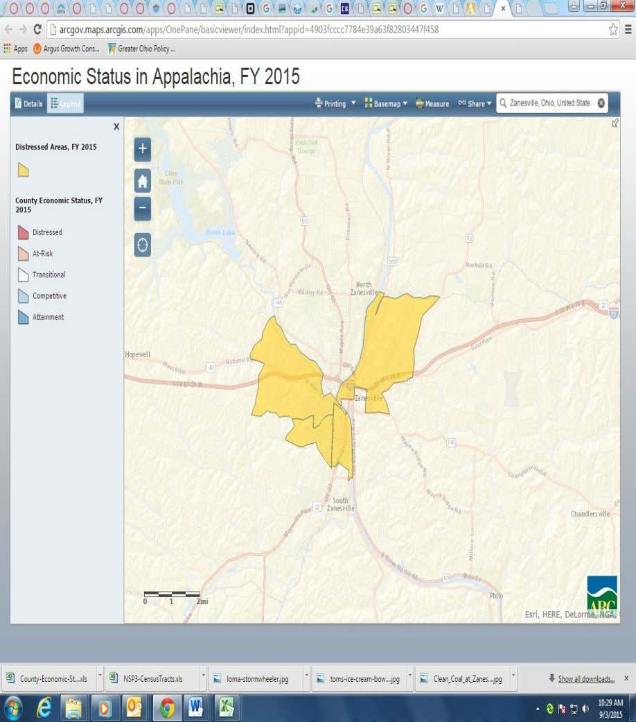 7 Zanesville Compared to Other Ohio Appalachian Ohio Cities Zanesville is the 61 largest city in