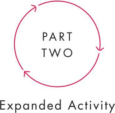 pa rt tWo expanded activity