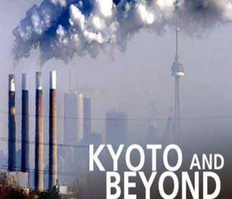 Canada & The Environment Canada was the first country world-wide to sign and ratify the Kyoto