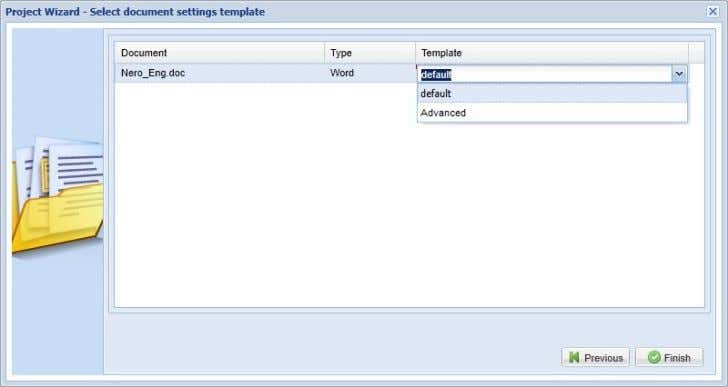 templates has been added to the crossWeb Project Wizard: What's New in Across v5.0 SP1? Status: