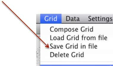 Save Grid vtrevino@itesm.mx    Save the grid frequently to avoid loosing your work