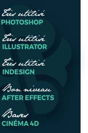 Bon niveau AFTER EFFECTS