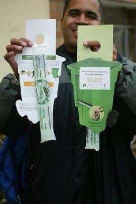 To Increase Participation, Compostable Kitchen Pail Bags Were Provided as Samples and We Got Stores to