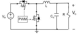 switching control PWM (pulse-width modulation) . Advantage: Low noise and better EMI control due to constant