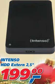 "INTENSO HDD Extern 2,5"" 199 199 199 00 00 00"