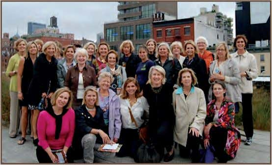 The Tuckahoe Garden Club Hits the Big Apple By Martha Moore The Tuckahoe Garden Club of