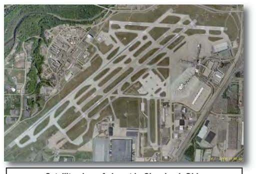 Runway Taxiway Control Tower Tarmac Helipad Satellite view of airport in Cleveland, Ohio Answer Key 6