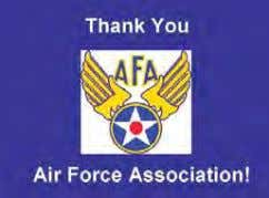 Air Force Association Partnership The Air Force Association (AFA) con- tinues to recognize the significant