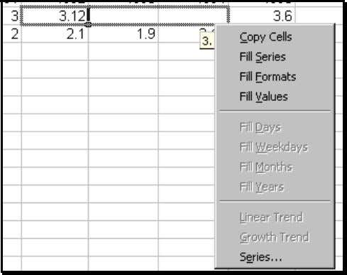 Save Time Figure 71: Tip for quickly accessing the Fill menu 4.8 PLACING DATA ENTRY ICONS