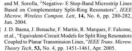 "Coupled to Planar Transmission Lines, "" IEEE Trans. Microw. Theory Tech , 53, No. 4, pp."