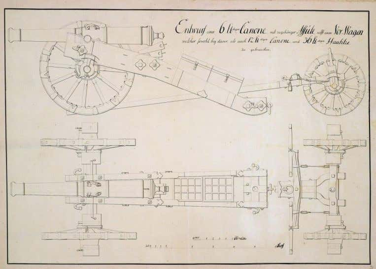 6-pounder cannon with carriage and limber, n.d. (Inventory