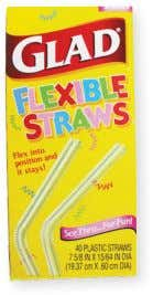 per package. Item Code Price 12 Pack StrawWhistle $ 4.99 Glad Flex Straws Buy extra straws