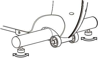the adjustment into position by tightening the jam nut against the stabilizer bar with an open