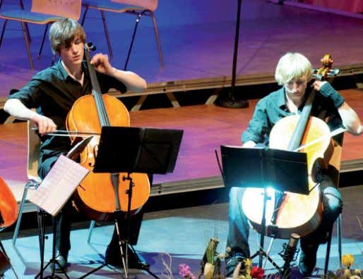 konZert cello-ensembles + cello-orcHester