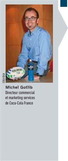 Michel Gotlib Directeur commercial et marketing services de Coca-Cola France COCA COLA