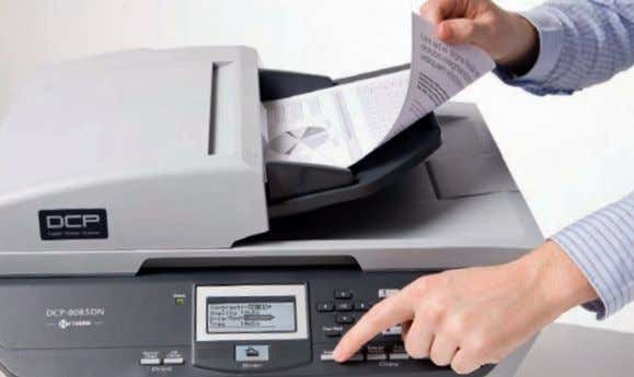 Create an instant impact - with quick 30ppm A4 printing. Automatic Document Feeder - ideal when