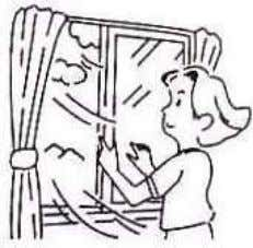 Use curtains or blinds to avoid direct sunlight to enter the Refrigerator directly, specially when door