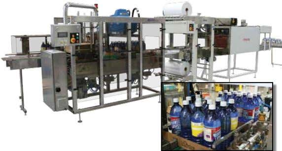 74 Accutek tFp in action tFP & SWr TRAy FORMINg AND SHRINK WRAP SySTEMS The Accutek