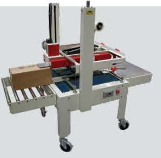 Base Price $7,995 Shown with optional lift ramp SCP Series SEMI-AUTOMATIC CASE SEALINg EqUIPMENT