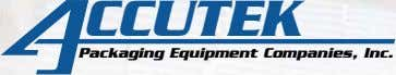 CCUTEK Packaging Equipment Companies, Inc.