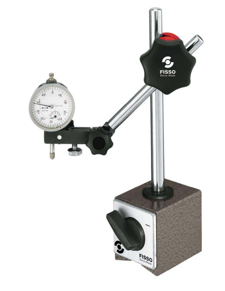 Simply the best fixation. Base Line Magnetic Base Indicator Holder
