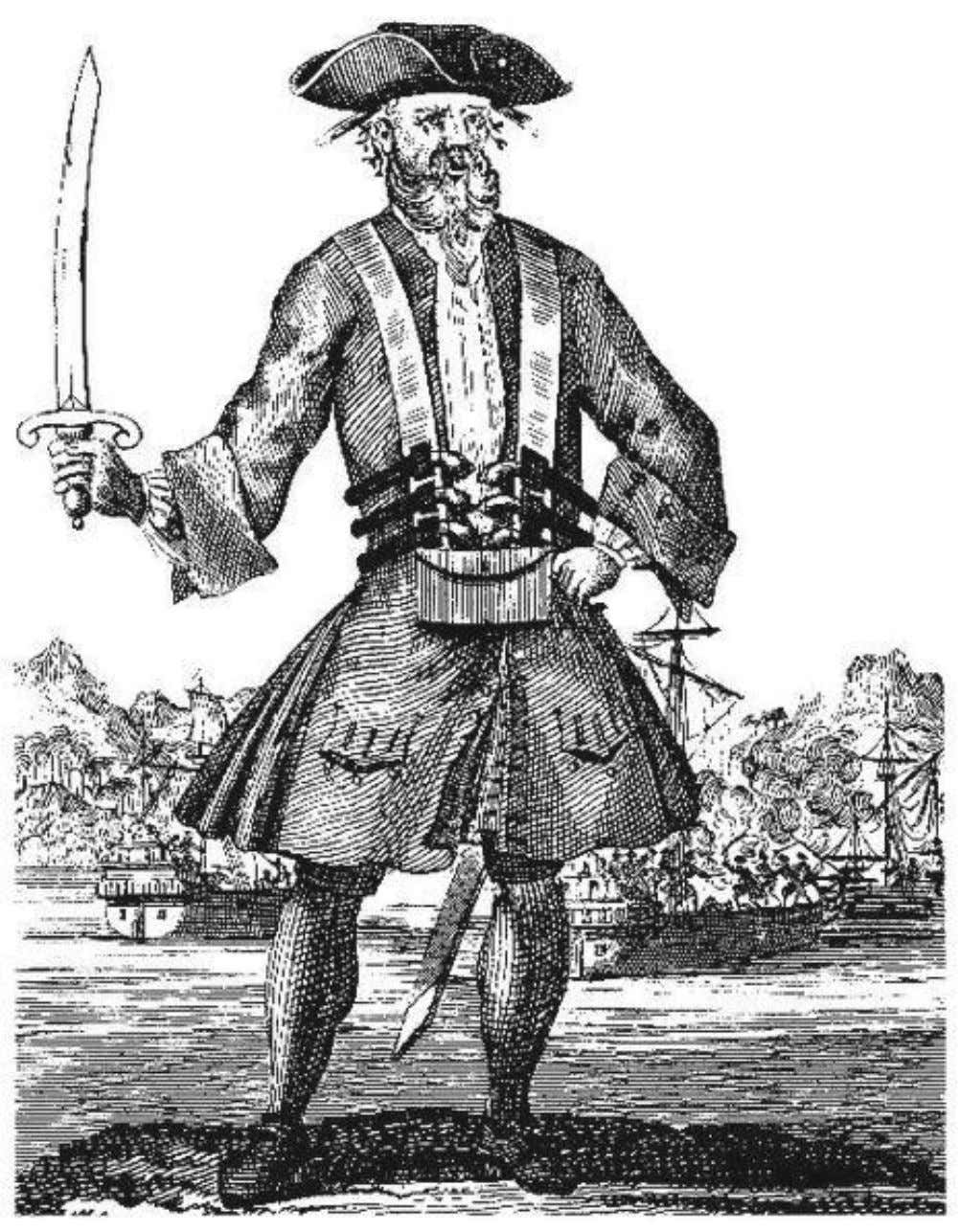 L1, Activity 1 Blackbeard (c. 1680-1718) Also known as Edward Teach. Notorious Golden Age pirate renowned