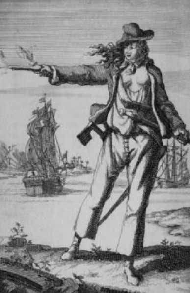David Nau. One of the most cruel and sadistic pirates known. Silver, Long John Bonny, Ann