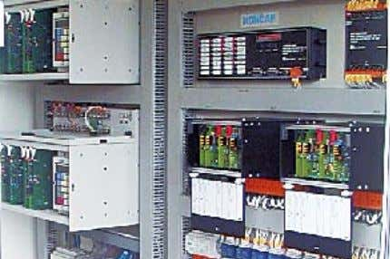 messages on the diagnostic module - rapid trouble- shooting ELECTRIC TRACTION SUBSTATION 110/25 KV • two