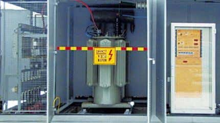 ultra fast fuse • control cubicles with one or two lines TRANSFORMER STATION 25/1,5 kV •