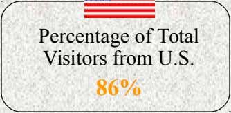 Current Data on Visitors to the Website Total Number of Visits to the Website 46,635 Percentage