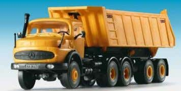 MB SK 2 axle unit with tipper trailer 12,2 x 3,5 x 3,7 cm B-14025 MEILLER
