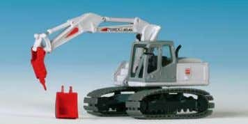 MENCK tracked excavator with deep bucket 16,5 x 4 x 7 cm B-11269 TEREX ATLAS mit