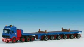 − MB & abnormal load trailer 37 x 3,4-9 x 4,5 cm B-13551 MB SK mit