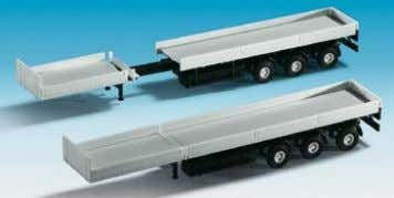 trailer with tipper 5 x 2,9 x 1,8 cm / 5,5 x 2,9 x 1,8 cm