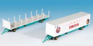 low loader trailer 21,8 x 2,9 x 3 cm / 17,5 x 2,9 x 3 cm