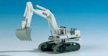 4 functions − tipper up/down, drive foreward/backwards F-31270 und B-61270 LIEBHERR 974 Bagger mit 8 Funktionen