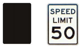 limits, or useful information such as state highway markers. SIGN MESSAGES AND SYMBOLS Traffic signs will