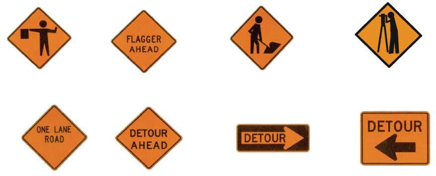 warn drivers to be caut ious when approaching these areas. Regulatory Signs These signs are seen