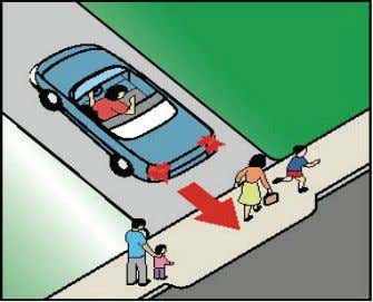 Use turn signal when entering traffic from a parking space. Backing Backing is more difficult for