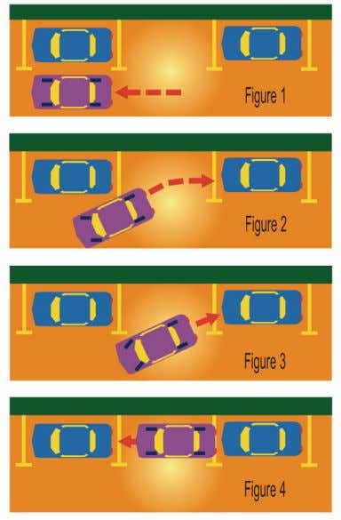 is simple and easy when drivers follow this procedure: 1. Signal intention to park. 2. Position