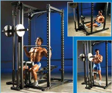 setup is an investment in a lifetime of muscle building. Here's a complete Powertec Power Rack