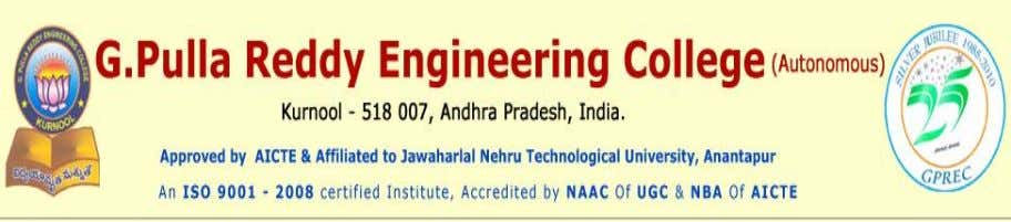 A PAPER ON ADVANCE EARTHQUAKE RESISTANT DESIGN OF STRUCTURES B.UMAMAHESHWARA III BTECH, CIVIL Email :